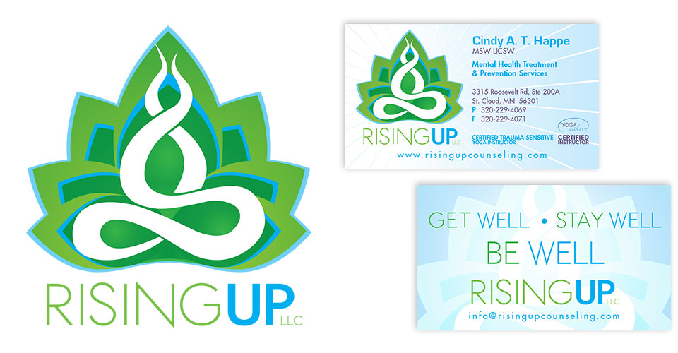 Rising Up Counseling - Brand Development