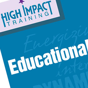High Impact Training